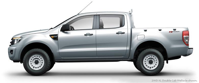 Ford Ranger XL 2.2L 4X4 MT 20194