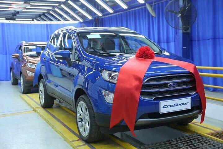 Ford EcoSport Titanium 1.5L Dragon AT3