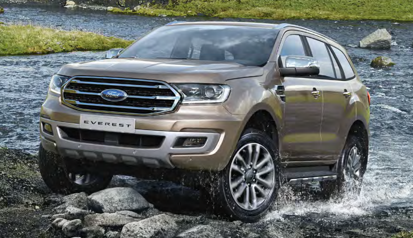 Ford Everest Titanium 2.0L AWD 4×4 AT Turbo kép 20184