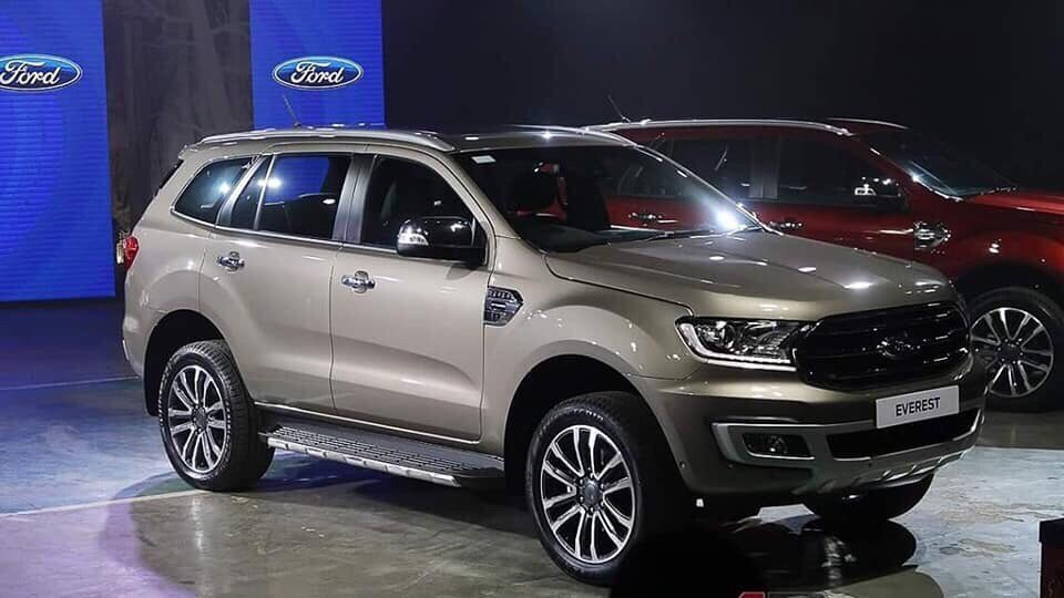 Ford Everest Titanium 2.0L AWD 4×4 AT Turbo kép 20183