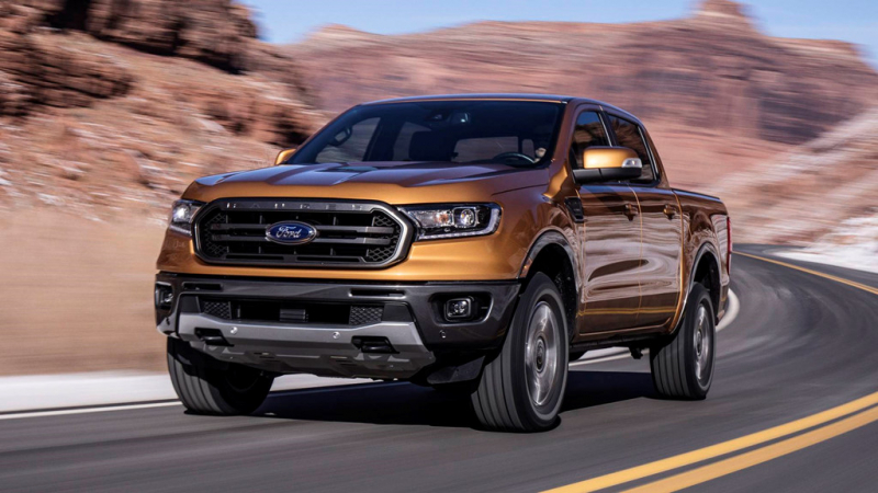 Ford Ranger Wildtrak 2.0L 4×4 AT Turbo Kép 20192