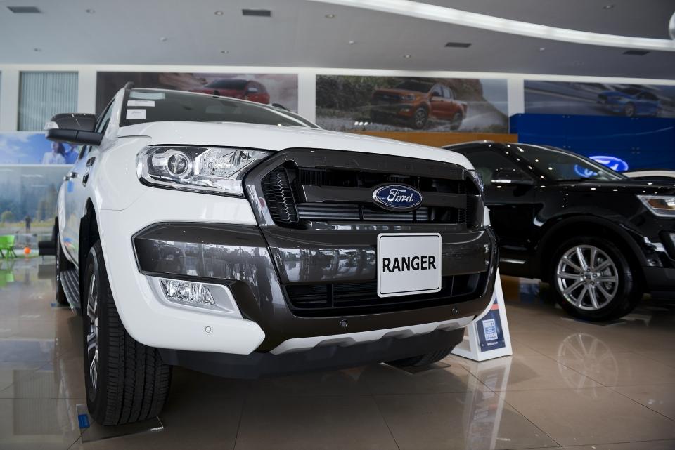 Ford Ranger Wildtrak 2.0L 4×4 AT Turbo Kép 20184