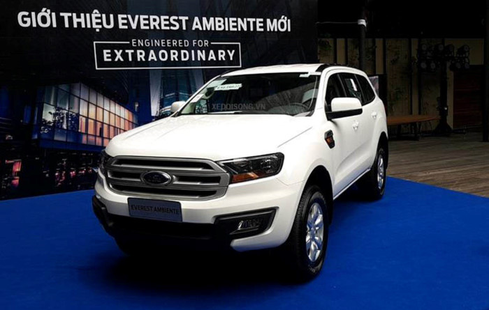 Ford Everest Ambiente 2.0L 4×2 MT 20193