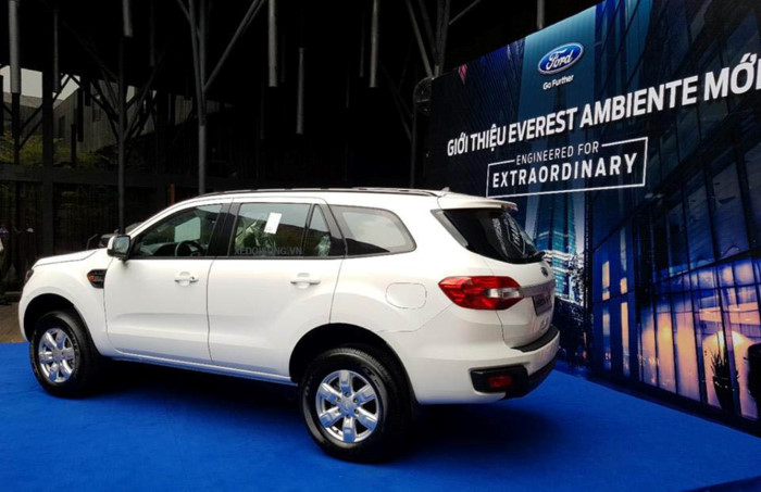 Ford Everest Ambiente 2.0L 4×2 MT 20197