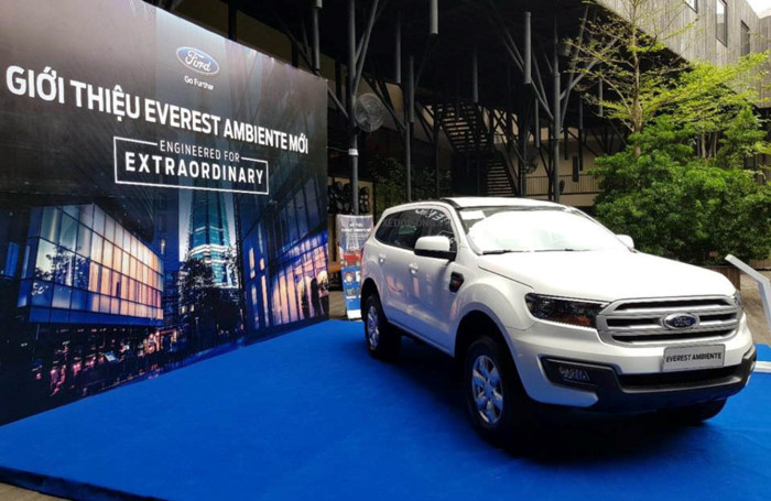 Ford Everest Ambiente 2.0L 4×2 MT 20198