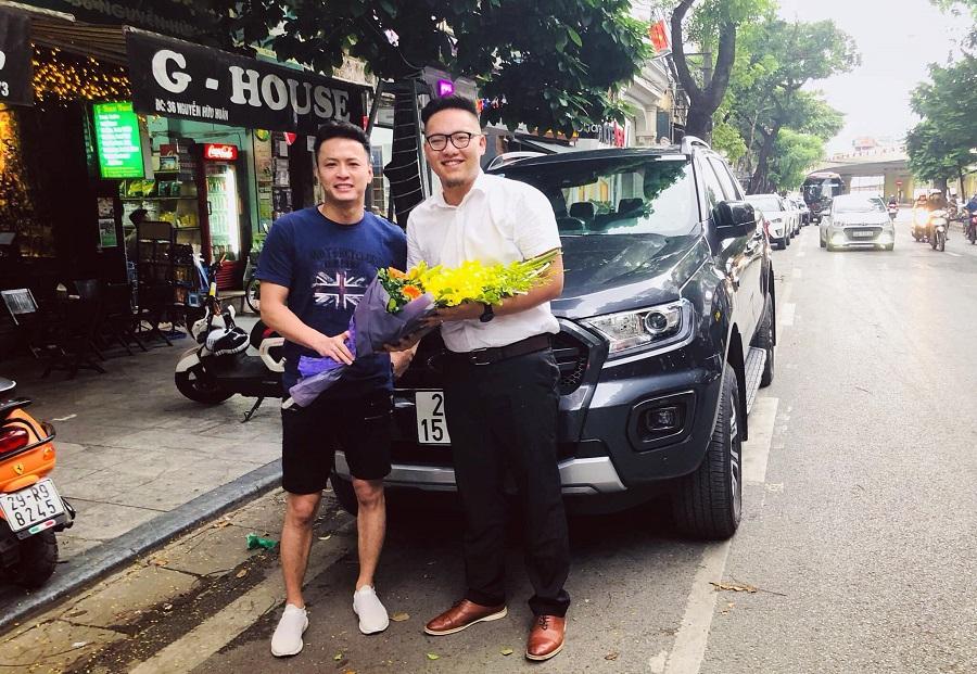 Lê Thành – Người Phán Xử tậu xe Ford Ranger 2018 mới nhất